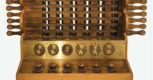 Dispositivos mecánicos de cálculo: Reloj Calculante