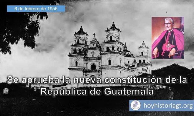 Constitución de la República de Guatemala, 1956
