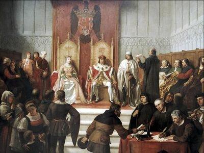 Matrimoni Reis Catòlics ( Isabel de Castilla + Fernando de Aragón )