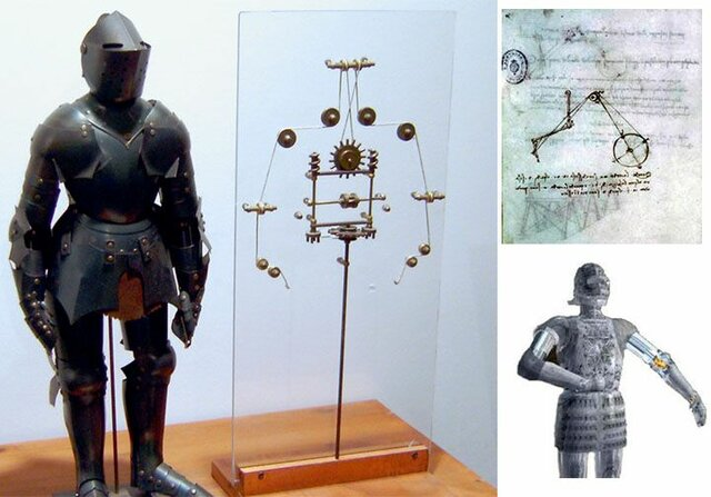 Leonardo's robot (1495)