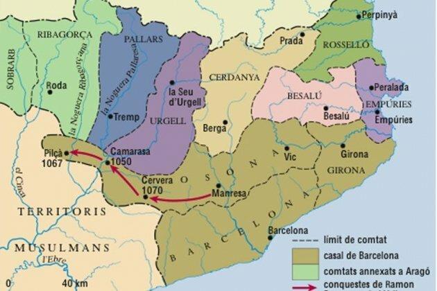 Formació dels Comptats Catalans
