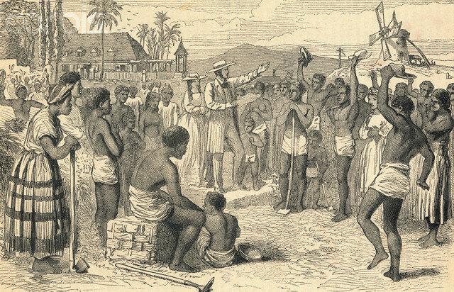 Importation of slaves ends