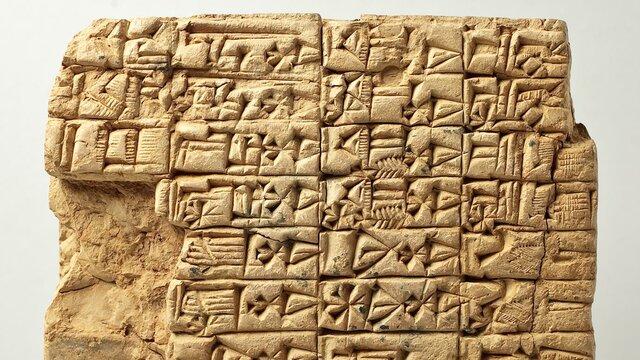 Cuneiform (Sumerian Writing Language)