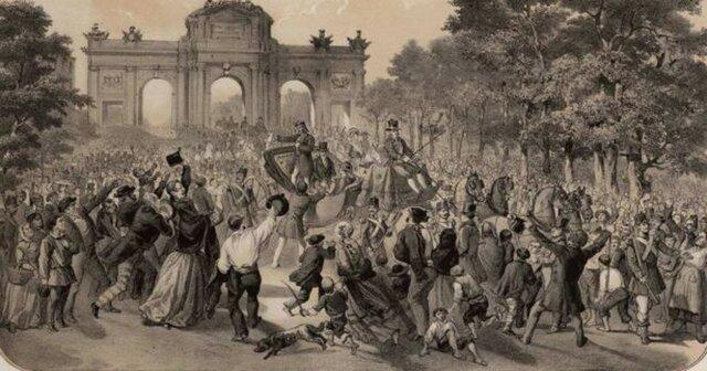 """""""Levantamiento popular en Madrid"""""""