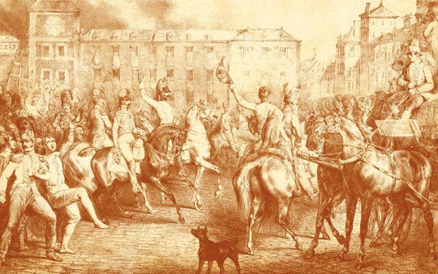 Levantamiento de Riego (liberal) contra Fernando VII