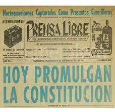 Constitución de la República de Guatemala, 1965
