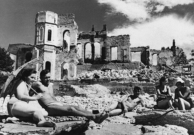 Viajes al finalizar la segunda guerra mundial