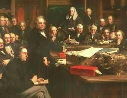 Tratado Cobden-Chevalier entre Gran Bretaña y Francia como primero de una serie de tratados de apertura de mercados entre las potencias europeas.