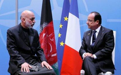 Francia se retira de la OTAN.