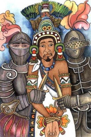 Moctezuma es hecho prisionero