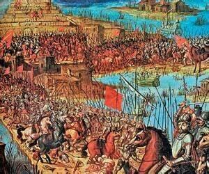 Derrota del Imperio Azteca
