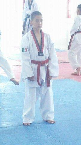 Hice mi examen de cinta negra en taekwondo