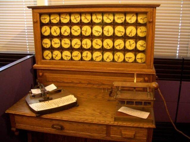 Máquina Tabuladora de tarjetas