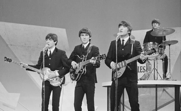 The Beatles se presentan en el show de Ed Sullivan