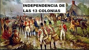independencia de las trece colonias