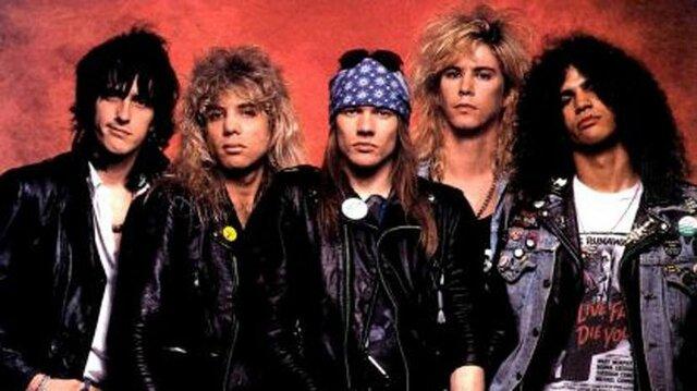 Guns N Roses, AC/DC y KISS