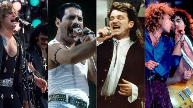 Concierto de Live Aid en Londres y Filadelfia