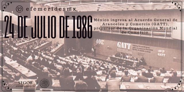 México ingresa al GATT