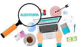 Antecedentes de Auditoría Administrativa timeline