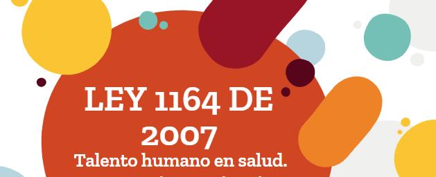 Ley 1164 en Colombia
