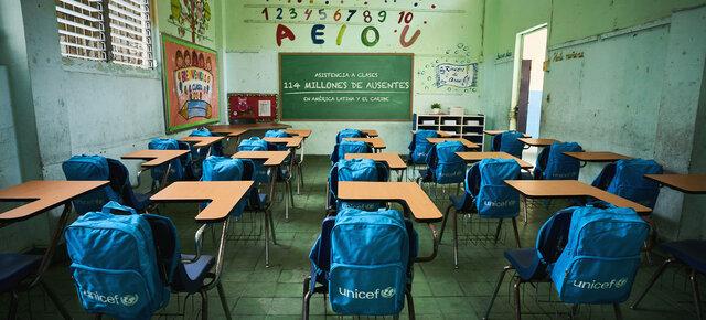 La Pandemia Covid-19 impide que los niños acudan a sus centros educativos.
