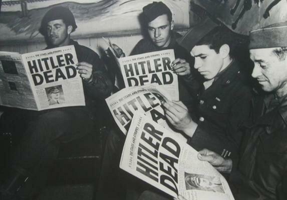 La caída de Hitler
