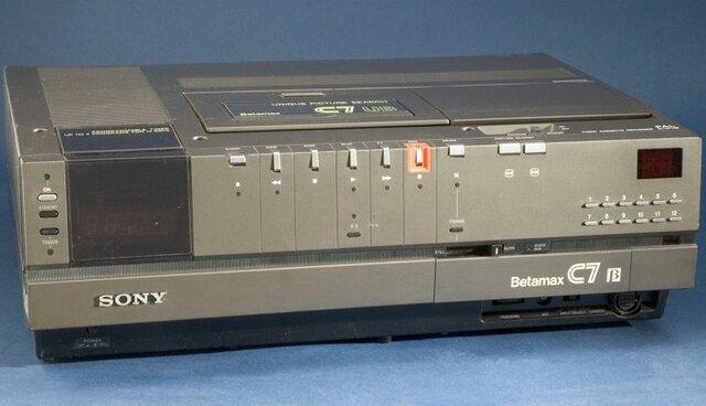 Floppy Disks, Calculators, Betamax and VHS