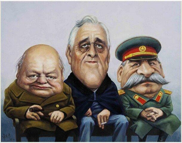 La conferencia de Yalta 4 feb 1945 – 11 feb 1945