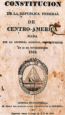 Constitución de la República Federal de Centroamérica