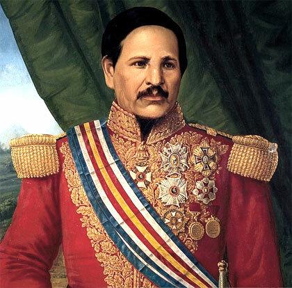 Rafael Carrera, primer presidente de Guatemala