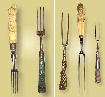 El uso del tenedor