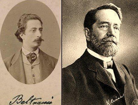 Eugenio Beltrami (1835- 1900) y Félix Christian Klein (1849- 1925)