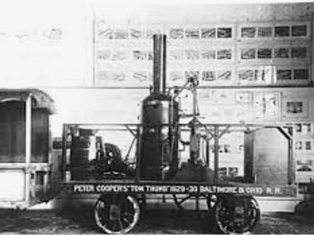 Invention of the Locomotive
