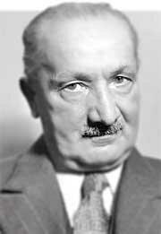 MARTIN HEIDEGGER 1889 - 1976