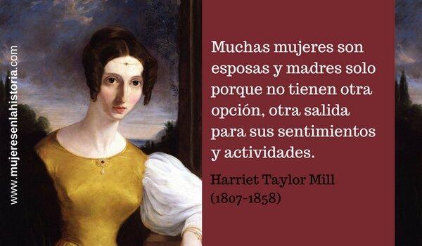 Harriet Taylor.