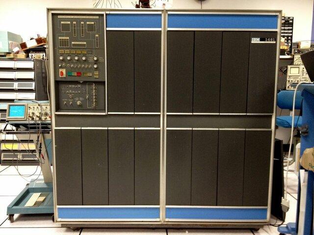 IBM 1401.