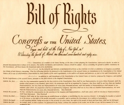 Declaración de Derechos de Inglaterra