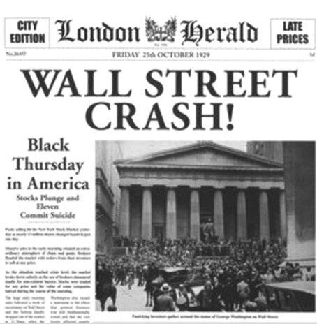 Crisis capitalista (felices 20 y el Crash del 29)