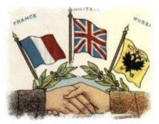 Triple Entente (alianzas previas a la Primera Guerra Mundial)