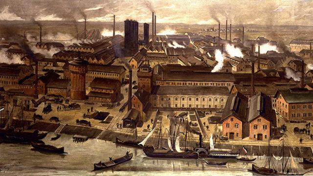 La segunda revolución industrial y el gran capitalismo