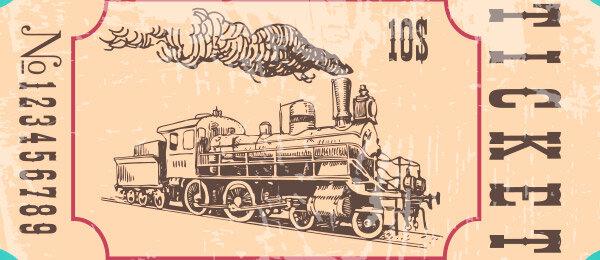 El ferrocarril (1804 - 1814)