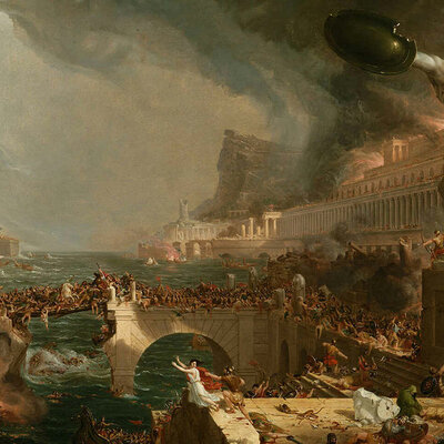 Caída imperio romano timeline