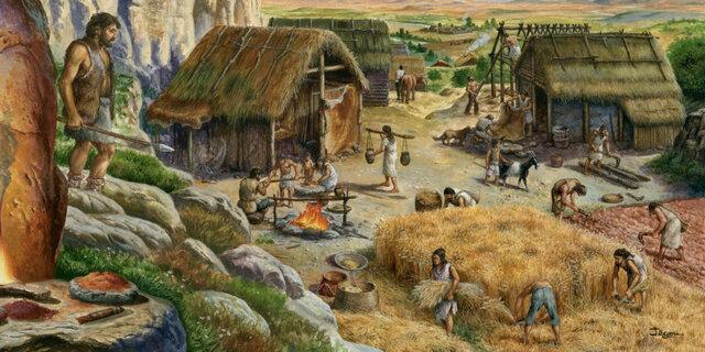 Revolucion Agrícola o Neolitica