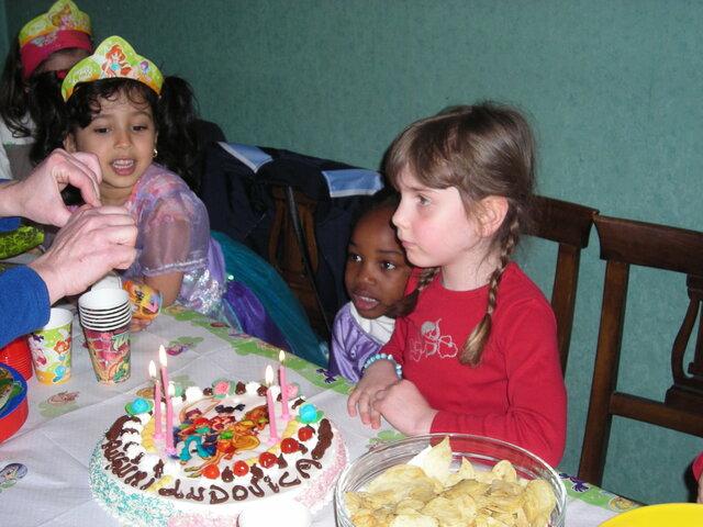 Il mio quinto compleanno