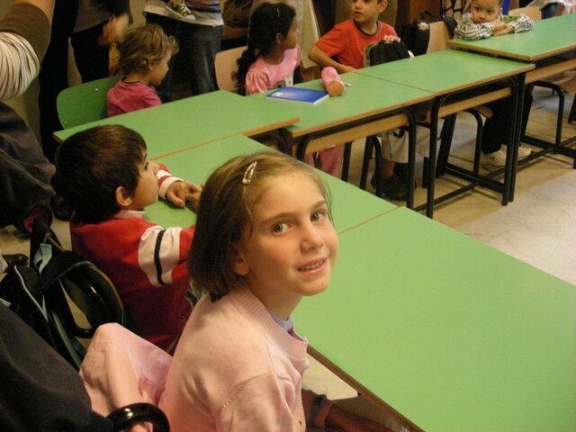 Primo giorno di scuola elementare