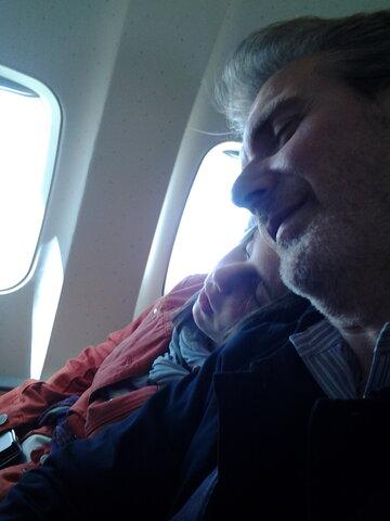 Primo viaggio in aereo