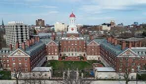 The first Colonial College, Harvard