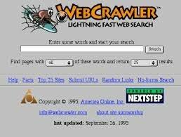 WebCrawler, ¡Lycos y Excite!