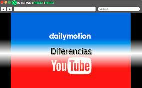 YouTube, DailyMotion y Reddit.