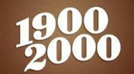 1900-2000 timeline